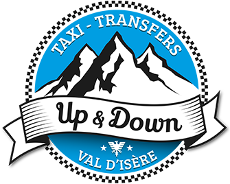 Logo Up and Down - Taxi Transfers Val d'Isère